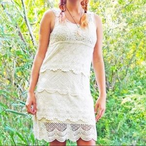 AMERICAN EAGLE Crochet Dress 👗